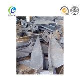 Ancla de Danforth del yate del acero galvanizado / inoxidable caliente del DIP
