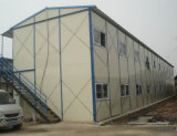 Дом стальной структуры Prefab временно (KXD-pH1417)