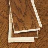 15-18mm T&Gの紫外線ペンキの寄木細工の床によって設計される木製のフロアーリング