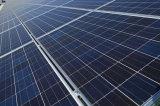 Energia verde senza comitato solare di inquinamento che dà elettricità per dirigersi liberamente e piantare