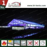 Tenda trasparente della parte superiore della radura della tenda del blocco per grafici di evento per le cerimonie nuziali ed i partiti