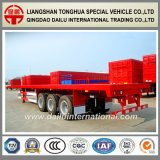 3-Axles 40FT Behälter-Transport-Flachbett-halb Schlussteil
