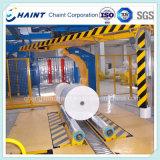 Papierrollenverpackungs-Maschine in der Papiermühle