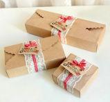 Подгонянная новая коробка бумаги Kraft конструкции упаковывая