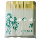 Baguettes en bambou jumelles de Tableau de supports chinois colorés de baguettes