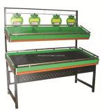 Carrinho de indicador quente da prateleira do supermercado das vendas para frutas e verdura com a alta qualidade do baixo preço