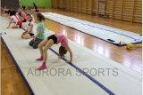 Matériel de Dwf de natte gonflable de gymnastique d'air, panneau d'air, voie d'air gonflable pour la gymnastique
