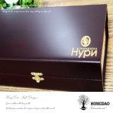 Hongdao kundenspezifischer hölzerner Uhr-Kasten mit Teilern Wholesale_L