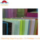 생성하는 착색된 유약 유리 중국에서 인쇄