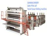 높은 수확량 자동적인 고급 화장지 돋을새김 및 접히는 기계