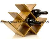 Cremagliera alla moda di memoria dell'hotel della barra di cremagliera del vino della farfalla delle 7 bottiglie
