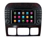 Carro DVD do Android 5.1 para o jogador 3G WiFi BT do GPS da navegação do sistema de multimédios da classe W220 S280 1998-2005 do Benz S