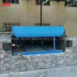 Da rampa estacionária elétrica da jarda de 6 toneladas fornecedor hidráulico do Leveler de doca