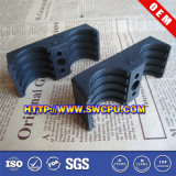 Clip bi-directionnel en plastique léger de pipe personnalisé