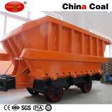 Carro de mina elevado da descarga da parte inferior da confiabilidade