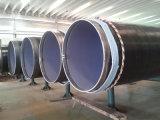 Tubo de acero del agua anti revestida de la corrosión del diámetro grande 3PE
