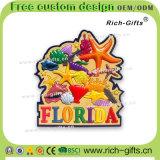Souvenir promotionnel personnalisé la Floride (RC-US) d'aimants de réfrigérateur de PVC de décoration de cadeaux