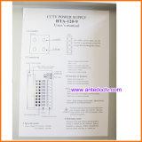 9 Kanal CCTV-Stromversorgungen-Kasten Gleichstrom 12V 10A 120W, CCTV-Stromverteiler