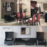 Meubles provinciaux français de lit de LSE de lit d'hôtel de lit de meubles normaux en cuir de chambre à coucher