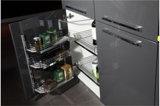 Moderner hoher glatter UVschrank der Küche-2017 (ZX-024)