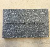 Pavimento non tappezzato di marmo verde della neve che pavimenta le mattonelle del rivestimento della parete delle mattonelle