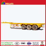 3 eixos 20ft 40ft Skeleton Container Semi Trailer