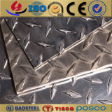 Die fünf Stab-stellt Aluminiumantischienen-Platte u. Ring für Bodenplatte her