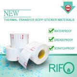 RTM-65 Hospital de pulseras Materia Prima papel térmico Sin cinta