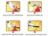 ABC Polvo Químico Seco Extintor de Extinción de Incendios