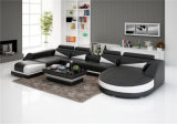 Caldo-Vendendo il sofà moderno europeo del cuoio del salone (HC1127)