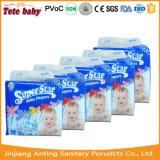 Amostra livre que Pampering o fabricante de Fujian da fralda do tecido do bebê