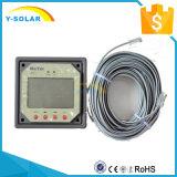 Y-Солнечный метр Mt1 дистанционный LCD для солнечного регулятора обязанности