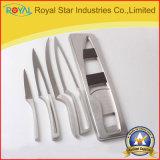 2017 el nuevo cuchillo de cocina del acero inoxidable del diseño 5PCS fijó (RYST028C)