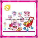 Elektrische Registrierkasse spielt Registrierkasse-Spielzeug für Kinder