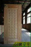 Piel de la puerta de la chapa del roble/de la nuez/el panel de la puerta de la fabricación de Linyi