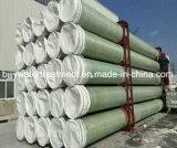 Pipe résistante à la corrosion élevée de FRP/GRP pour l'offre ou les eaux d'égout Drainning de l'eau