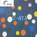 Tessuto 100% del denim della stampa del punto del cotone per l'indumento dei bambini