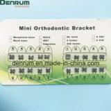 Vervaardiging MIM van Denrum FDA van de Steunen van Roth van Stukken Orthodontisch Ce Van uitstekende kwaliteit ISO