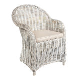 خارجيّة حديقة فناء أثاث لازم [ويكر]/[رتّن] كرسي ذو ذراعين وقت فراغ يتعشّى كرسي تثبيت