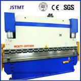 戸枠(WC67K-200T 3200)のためのステンレス製の金属板ボックスフォールドの曲がる機械