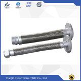 Dn100 tipo mangueira flexível trançada da união de 4 polegadas do metal da mangueira do aço inoxidável
