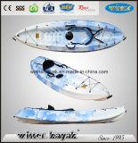 No se siente sobre inflable individual kayak de recreo