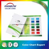 색깔 도표 종이 카드 널을 인쇄하는 예금
