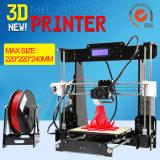 Metallo personalizzato disponibile della stampante di Digitahi 3D di vendita calda di Anet