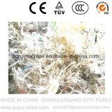 Prodotto non intessuto residuo della plastica che ricicla lavatrice