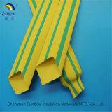 Желтые & зеленые теплоусаживающ пробки сделанные из нового PE