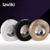 PANNOCCHIA Downlight del LED montata superficie sottile eccellente con 3-7W