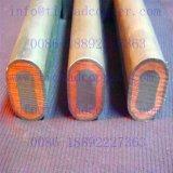 Barra de distribución/tubo conductores de cobre revestidos del Ti del Dsa para la impresión y el teñido de materia textil
