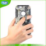 Cassa personalizzata ibrido del telefono mobile della clip della cinghia di modo per il iPhone 6 più, coperchi della cassa del telefono delle cellule