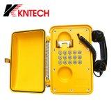 IP67はハイウェイおよび鉄道のための産業電話非常電話を防水する